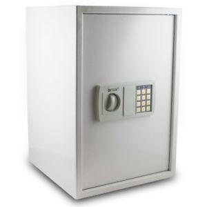 BITUXX-Safe-Tresor-Moebeltresor-Wandtresor-Aktentresor-Geldschrank-lichtgrau
