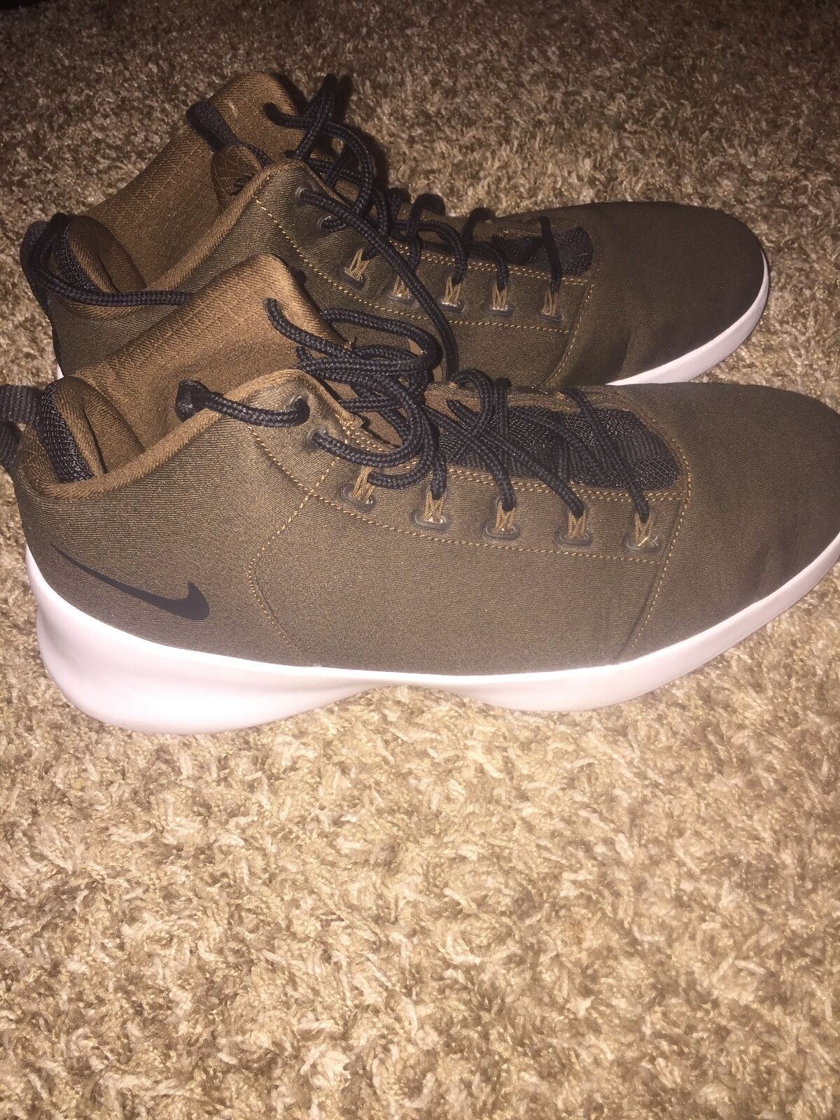 Brown nike shoes size 12