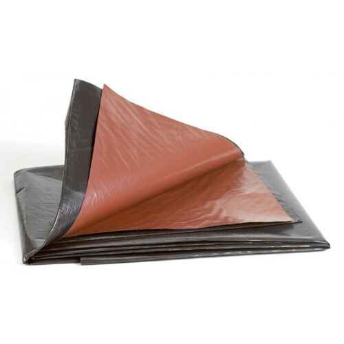 Budget Koi Pond Liner 9/' 8/'/' X 8/' 2/'/' 3mx2.5m 12 Mil Reversible Black//Brown