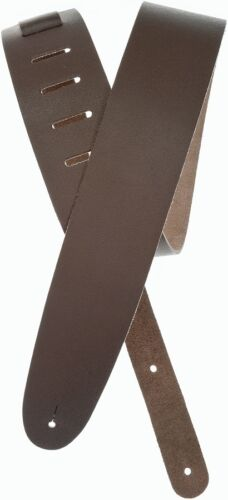 Planet Waves Classic Leather Guitar Strap Brown.6cm Wide Adjustable.P//N25BL01