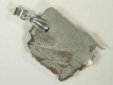 BUTW Russia Seymchan Meteorite Pendant Lapidary Necklace Jewelry 42 ct 9093E