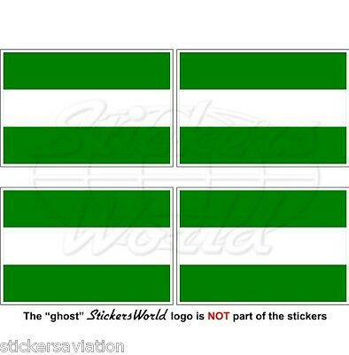 """2/"""" Vinyl Bumper Stickers-Decals x4 NETHERLANDS Dutch NEDERLAND Shield 50mm"""