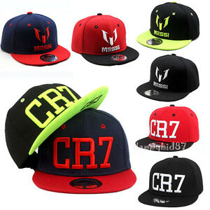 Kids Messi CR7 Embroidery Baseball Caps Boys Girls Cap Snapbacks ... 6b027b4fbdb