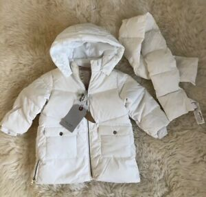 Qualified Euc Baby Gap Girls Cream Faux Fur Short Sleeve Vest Size 0-6 Month Baby & Toddler Clothing
