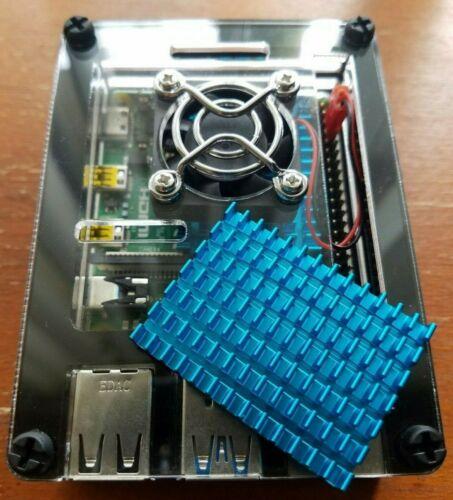 Raspberry Pi 4 Heatsink Rpi4 Heat Sink Pimoroni Cooler Cooling 40x30x5mm