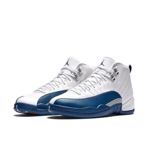 "NEW Youth Air Jordan XII BG /""French Blue/"" 153265-113 White 12 GS NIB Master"