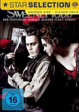 Sweeney Todd - Johnny Depp - Tim Burton - DVD - OVP - NEU