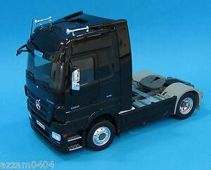 Eligor Mercedes Benz Actros Truck 1 18 Scale Die Cast Black Rare