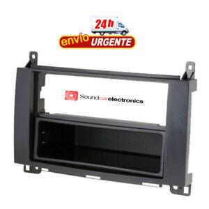 Marco-Adaptador-Montaje-Radio-Coche-Mercedes-Benz-1-2Din-Clase-A-B-Vito-Viano