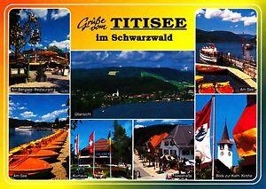 Baden-württemberg Ansichtskarte RüCksichtsvoll Grüße Vom Titisee Im Schwarzwald