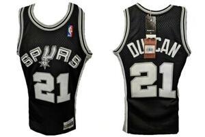 1998-99 Tim Duncan #21 Spurs Mens Size XS X-Small Mitchell & Ness Jersey