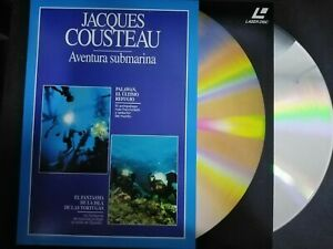 Jacques-Cousteau-Adventure-Underwater-Laser-Disc-Palawan-Y-Las-Turtles
