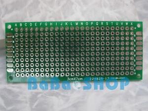 8pcs-DIY-Double-Side-Prototype-PCB-Tinned-Universal-Board-30mm-x-70mm-3x7-FR4