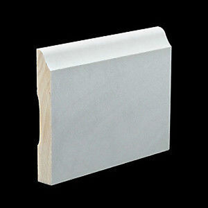 3 inch primed poplar colonial base molding wood moulding for Colonial trim molding