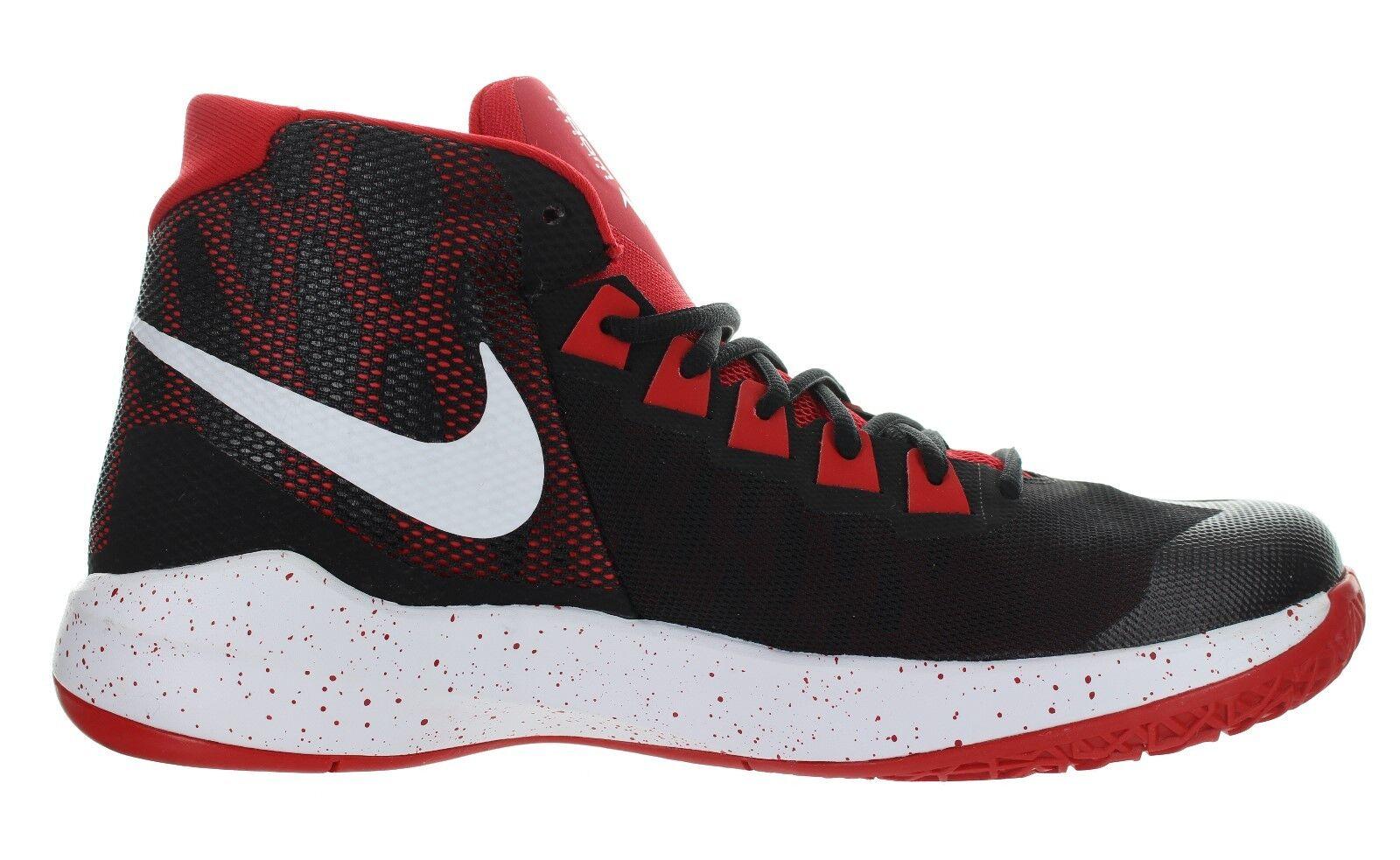 Nike Men's  Zoom Devosion   Black - Red Basketball shoes Multiple Size New