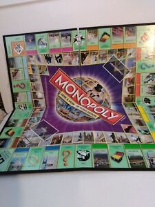Monopoly here & now world edition board game (used) boardgames. Ca.