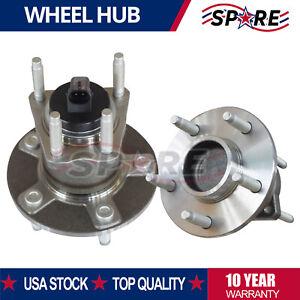 Rear Wheel Bearing And Hub Assembly for Aura G6 Chevrolet Malibu w// 5 Bolt ABS