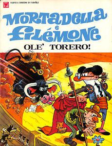 """[098] MORTADELLA E FILEMONE ed. Williams 1972 """"Olè torero"""" I ed. Ottimo Vol. Bro - Italia - [098] MORTADELLA E FILEMONE ed. Williams 1972 """"Olè torero"""" I ed. Ottimo Vol. Bro - Italia"""