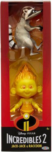Disney Pixar Incredibles 2 Champion Jack-Jack Series /& Zeze Procione Figura Nuovo