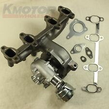 NEW TURBO CHARGER+WASTEGATE+CAST IRON MANIFOLD FOR VW/AUDI 1.9T TDI K04 GT1749V