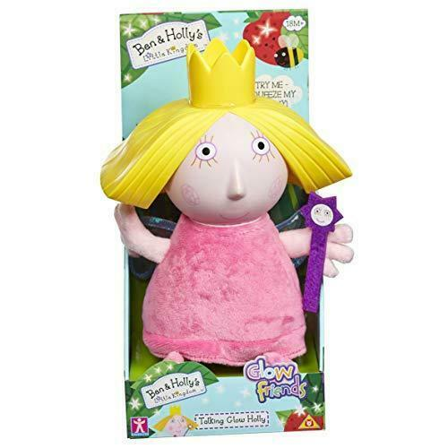 Nouveau Ben /& Holly/'s Little Kingdom Talking Holly Glow ami Plush Toy