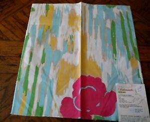 SCALAMANDRE Fabric Remnant - LA FENETRE OUVERTE - Belle Jardin ...