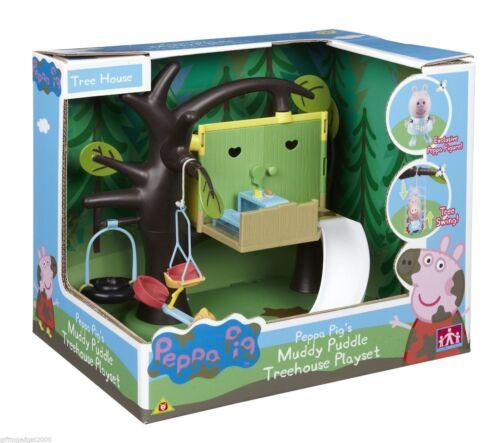 Peppa Pig Peppas Treehouse Playset  New /& Sealed