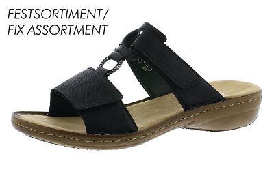 Rieker Damen Pantolette Hausschuh Sandale **NEU** (60885 00) Gr. 37 42   eBay