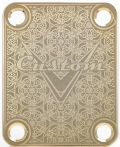 Cuello-Placa-Custom-Oro-para-Guitarra-Bajo