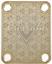 Cuello-Placa-Custom-Oro-para-Guitarra-Bajo miniatura 1