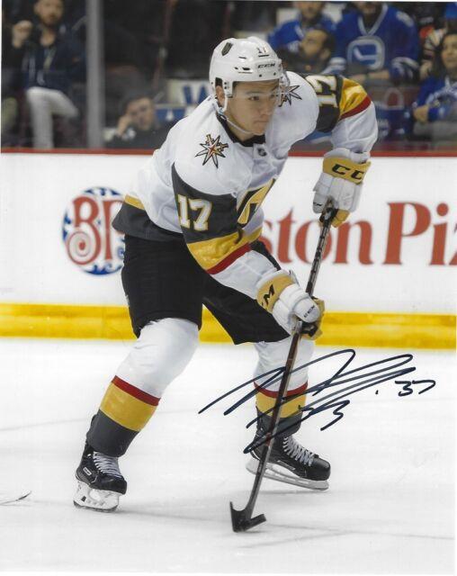 Vegas Golden Knights Nick Suzuki Autographed Signed 8x10 Photo COA #4