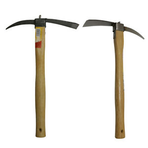 Details About Durable Mini Hoe Digging Out Weeds Harvesting Camping Fishing  Gardening Tool