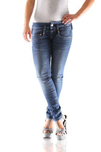 Nuovo D9668 Pitch Donna 699 Pantalone Jeans Slim Splendido nW0avw4qf