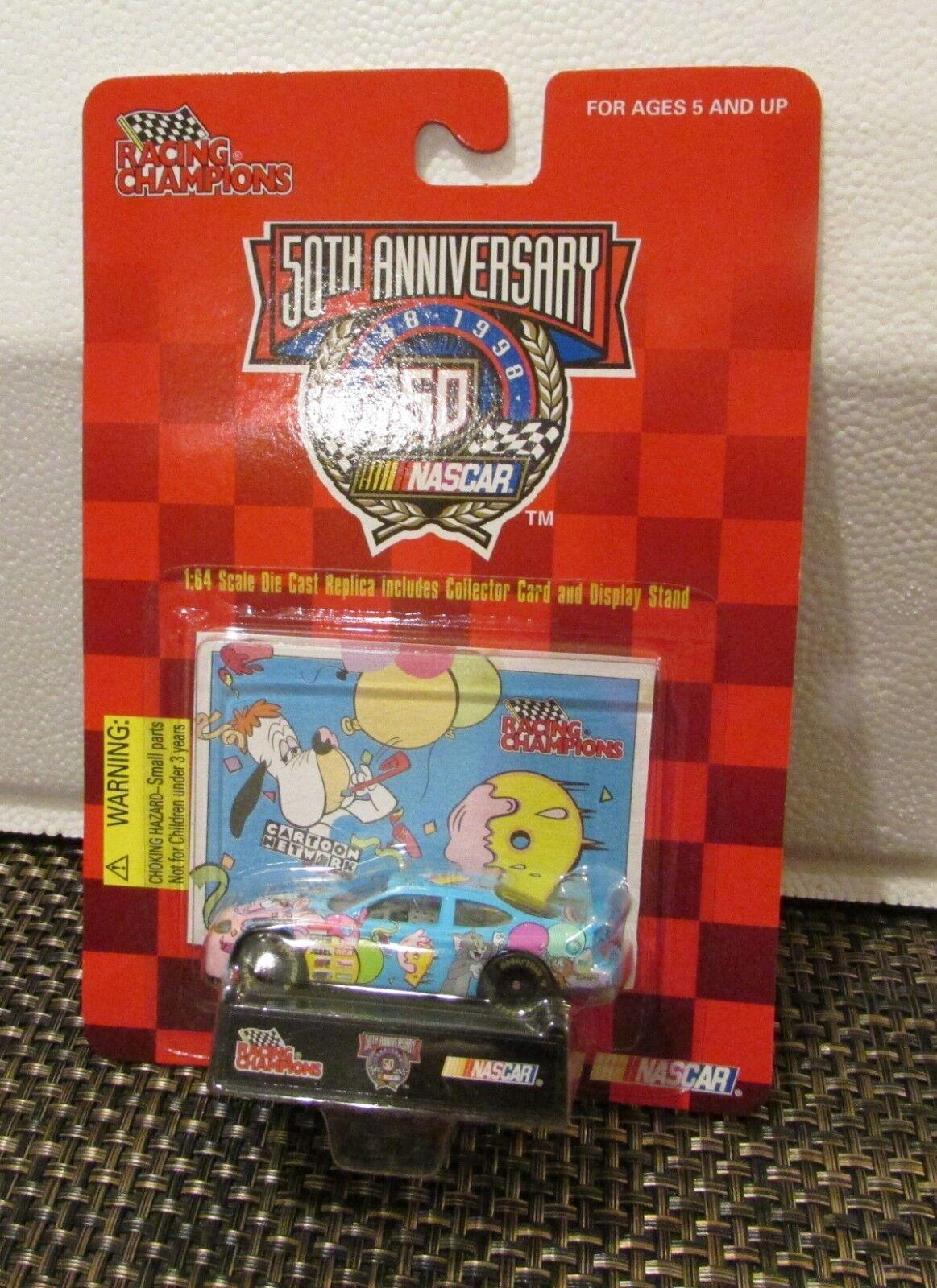 NASCAR 50th Anniversary Edition Cartoon Network Racing Champions 1998 New