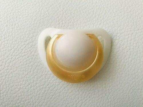 aimant ou mastic pour bébé reborn poupée ~ blanc /& or Mannequin Sucettes Sucette
