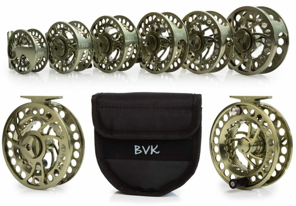 Temple Fork BVK 3 Super Large  Arbor Fly Reel M Spare Spool  100% brand new with original quality