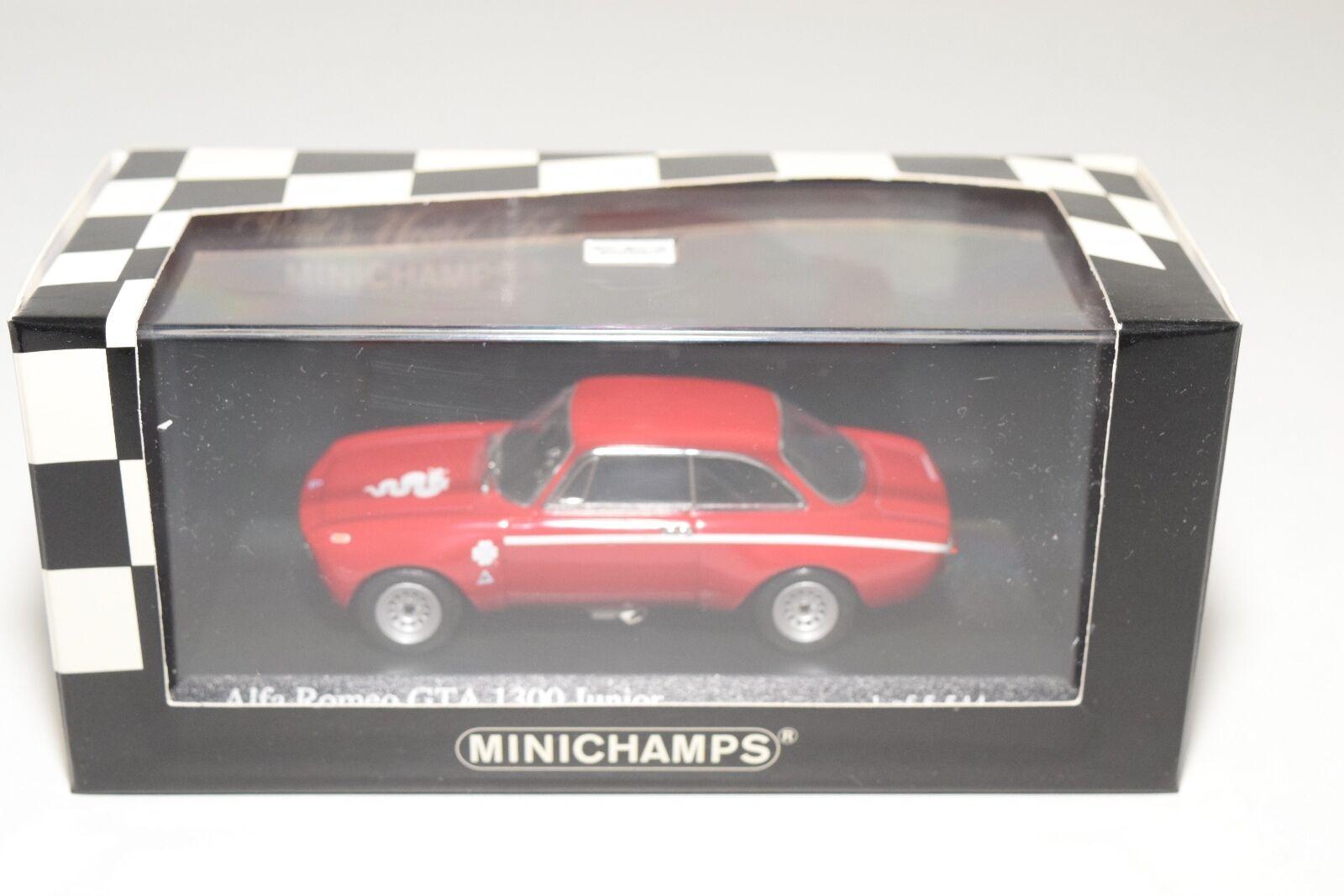 MINICHAMPS ALFA ROMEO GTA 1300 JUNIOR Rojo MINT BOXED