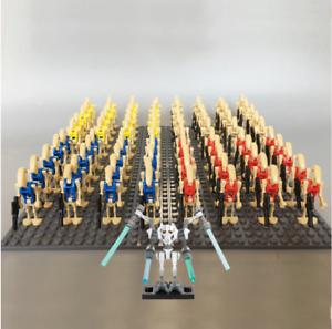 21-Pcs-Minifigures-Star-Wars-Battle-Droid-Gun-Clone-Bonus-Minikit-Lego-MOC