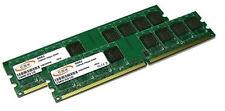 2x 2GB = 4GB RAM Arbeitsspeicher DDR2 800 Mhz PC2-6400 240pin Speicher DIMM
