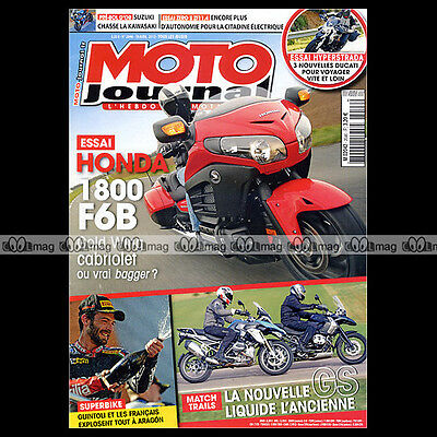 2019 Mode Moto Journal N°2046 Bmw R 1200 Gs ★ Honda 1800 F6b ★ Ducati 821 Hyperstrada 2013 Ideaal Cadeau Voor Alle Gelegenheden