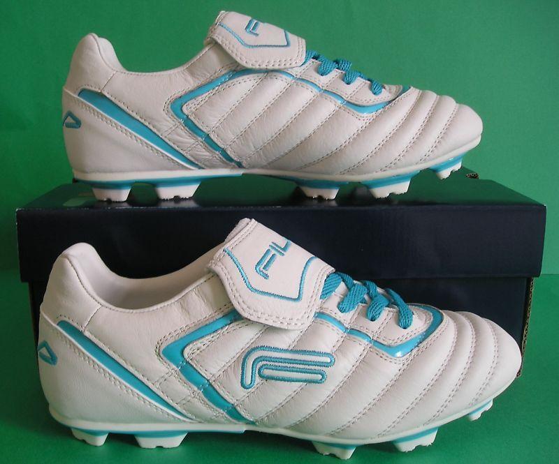 RAREnibFila ENSEEClassic Football Soccer Stiefel Leder Cleat SchuheDamens sz 6.5