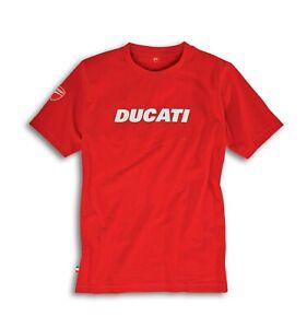 Genuine Ducati Ducatiana 2 T-ShirtMotorcycle TeeRedOfficial OEMM-XL