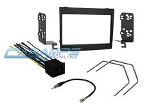 2004-2006 GTO COMPLETE DOUBLE 2 DIN CAR STEREO DASH KIT W/ WIRE HARNESS & TOOLS