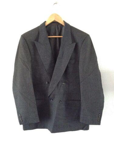 "Men's Smart Jacket By Centaur Gold Collection Chest 42"" Wool Grey"