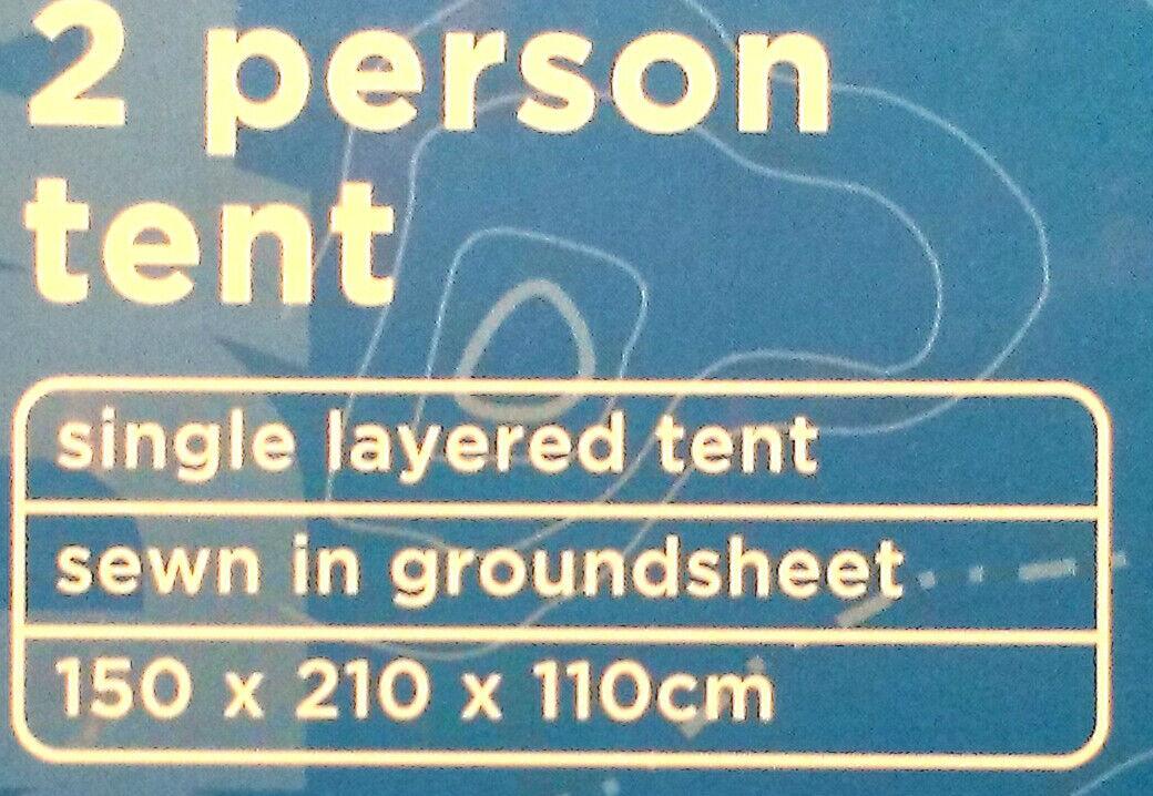 2 personne tente-unique Multicouche-cousu en feuille sol feuille en 150 x 210 x 110 cm 806c0f