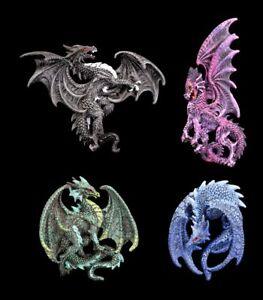 Dragones-Refrigerador-Imanes-Cuarteto-Kit-de-4-Decoracion-De-Fantasia