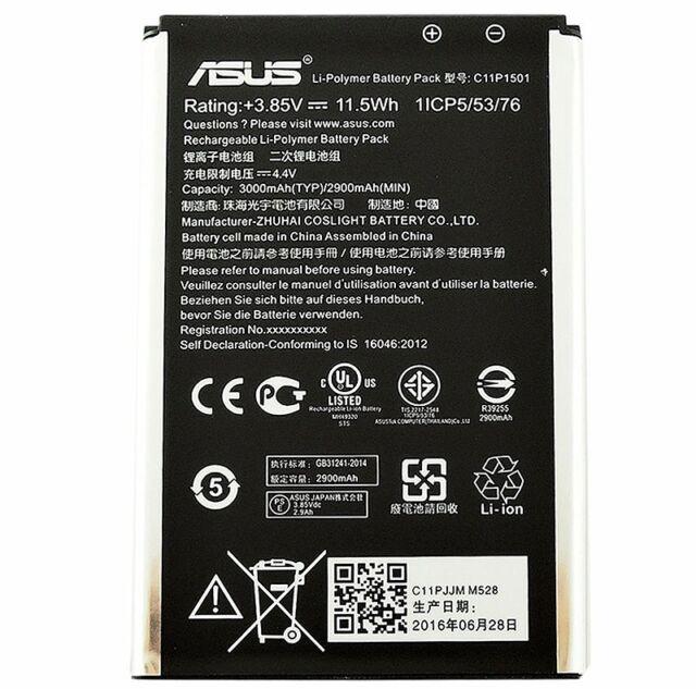 Batteria Original ASUS ZenFone Selfie ZD551K 3000mAh 0B200-01890000 C11P1501