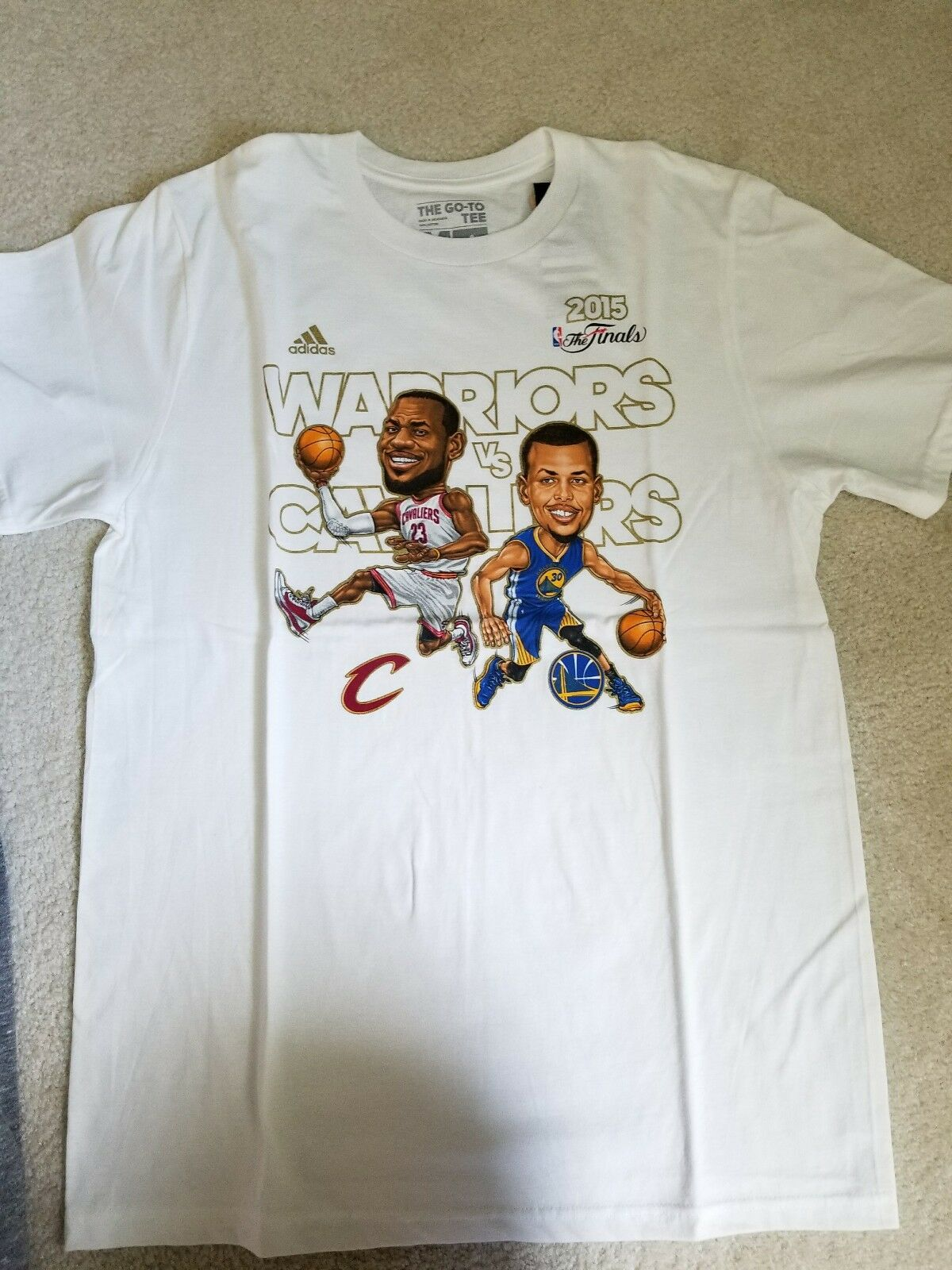 2015 Final Curry tee adidas special edition M Med
