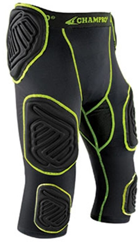 Champro Youth Boys Bull Rush 7 Pad Integrated Football Girdle With Pads FPGU17Y