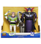 """Toy Story 12.5/"""" Buzz Lightyear and 14/"""" Emperor Zurg Talking Action Figures NEW"""
